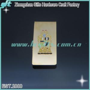 China 2015 Customized LOGO money clip/popular free design money clip on sale