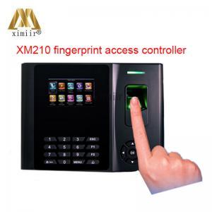 China Backup Battery Biometric Fingerprint Reader Xm210 With Linux System Standalone Fingerprint Time Attendance Device on sale