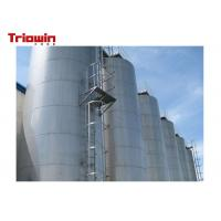 Quality Large Capacity Dairy Processing Machine Outdoor Milk Storage Tank 20000~200000L for sale