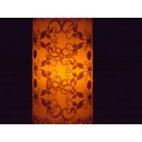 Quality Custom Remote control LED decorative pillar candles ABS plastic for sale