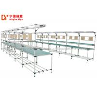 China Lean Tube Production Industries Workbench , ESD Safe Workbench Assembly Line on sale