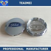 Best OEM / ODM ABS Chrome Ford Logo Alloy Car Wheel Center Caps 55mm / 60mm wholesale