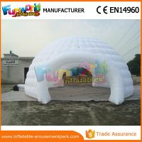 China Customized Inflatable Party Tent Portable Camping Tent Garden Igloo For Outdoor on sale
