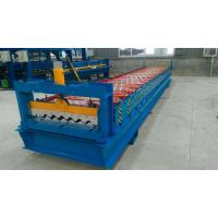China 4.0kw Automatic Roll Forming Machines For 0.40 - 0.80 Mm Thickness Material on sale