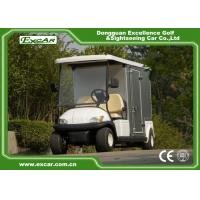 Quality 48V Trojan Battery Electric Food Cart Vending Golf Cart With Container for sale
