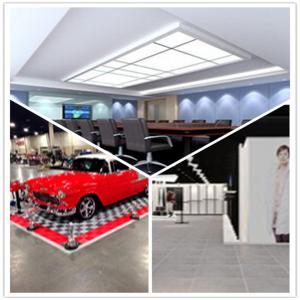 China Meeting Room/Show Room/Garage/Warehouse/Bathroom/Home PVC Interlocking Decking Flooring on sale