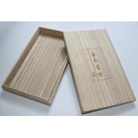 Quality Lightweight Personalised Box , Paulownia Wooden Tea Bag Storage Box With Custom Logo for sale
