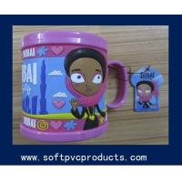 Quality Lovely Creative Spill Proof Custom Printed Coffee Mugs for Christmas Gifts / Souvenir for sale