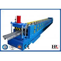 Buy cheap Standard Size Highway Roadside W Beam Guardrail Roll Forming Machine from wholesalers