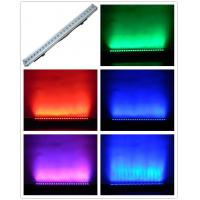 Quality 3W RGB LED Wall Washer Lights Sound Control Stage Strobe Light 24 bulbs for sale
