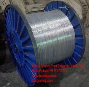Quality Dây thép mạ kẽm làm lõi ACSR tiêu chuẩn ASTM B498 class A. for sale