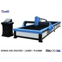 Quality Start Control CNC Plasma Cutting Table , Plasma Cutting Equipment For Stainless Steel for sale