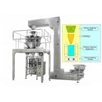 Quality Potato Chips Volumetric Packing Machine Multi Head Weigher 2000ML Volume for sale