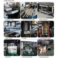 The most popular of full automatic pp non woven fabric coated shopping box bag making machine with handle
