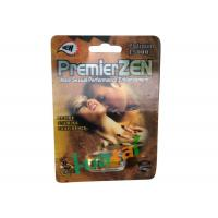 Quality Red 3D Cards Natural Male Enhancement Pills For Preventing Premature Ejaculation for sale