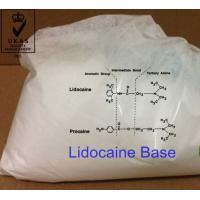 China Local anesthetics APIs Lidocaine Base CAS 137-58-6 Pharmaceutical Raw Material Steroid Hormones on sale