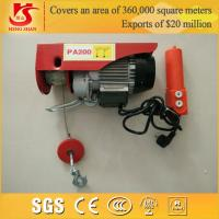 Quality mini 1 ton electric hoist PA1000 model hoist for sale