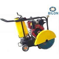Quality 13HP Hand Push Gasoline Asphalt Road Cutter Machine With 0 - 180mm Cutting Depth for sale