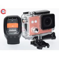 China Wireless HD Action Camera With Remote Control Outdoor Waterproof Head Camera on sale