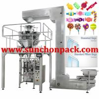 Buy Multihead Weigher Automatic Ice Cube Packing Machine Simultaneous Control at wholesale prices