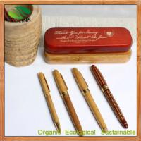 Quality China Bamboo Craft Pen Bamboo Ball Pen for Promotional Pen, Office & School Pen, Business for sale