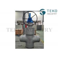 Quality High Pressure Double Disc Through Conduit Gate Valve Self Relieving Function For Petroleum for sale