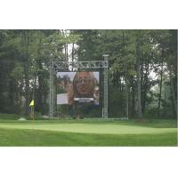 Buy cheap High brightness IP65 building led display 10mm / 12mm / 16mm with Synchronizatio from wholesalers