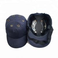 Quality CE EN812 Approved Custom Bump Cap Industrial Safety Helmet Hard Hat With Chin Strap for sale