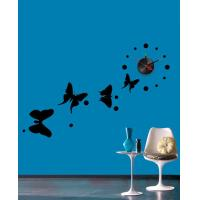 Quality Butterfly Designer Wall Sticker Clocks 10A068 / Wall Decoration for sale