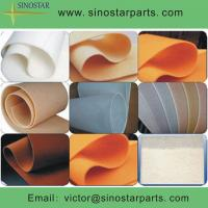 China 100% synthetic BOB paper making felt on sale