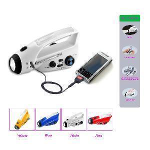 Quality Battery-Free Wind Up Flashlight FM Radio (CW-R24) for sale