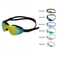 China Personalized Mirrored Silicone Swim Goggles With Automatic Adjustment Strap (MM-5900) on sale