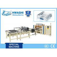 Best Dishwasher Wire Rack /  Wire Shelf Welding Machine With X Y Axis Wire Dropping Hopper wholesale