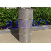 Quality Ballast Water Sintered Steel Filter , Stainless Steel Mesh Tube Filter for sale