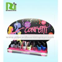 Buy Foldable Custom Nail Polish Cardboard POP Displays For Promotion at wholesale prices