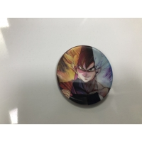 Quality 5.8*5.8*Cm 3D Lenticular Badge Anime ONE PIECE DBZ Naruto for sale