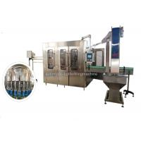 Quality High Speed 24 Heads Mineral Water Filling Machine / Line PLC + Touch Screen for sale