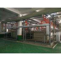 Quality 2 T/㎡ Automatic Anodizing Plant , Titanium Anodizing Machine Drainage Facilities Divided for sale