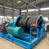 Quality Fast Speed 650KN Small 1 ton 10 ton Electric Power Winch for sale