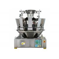 Quality 1.6L Hopper 10 Heads Multihead Weighers, 65 Bags / Min Automatic Weigher for sale