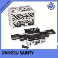 Quality Hot popular zebra printing best wholesale makeup cases for sale