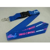 Best Full Color Printing Promotional Lanyards Sport Meeting Medal Ribbon / ID Neck Ribbon wholesale