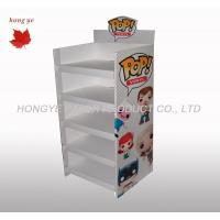 Best Silk Screen Rigid Cardboard Display Stands , Gift Display Racks 5 Layers wholesale