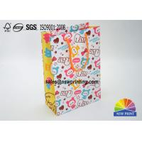 Best Matt Laminated Full Color Printintg Cartoon Custom Paper Shopping Bags wholesale
