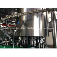 Quality 8000B / H Auto Glass Bottle Filling Machine For Pepsi / Cola / Fanta Soft Drinks for sale