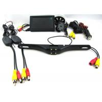 420 TVL 12V Wireless Rearview Camera System With 4.3 Inch Suction Cup Mount Monitor