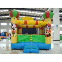Best Amusement Park Inflatable Sports Games , Bounce House With Mini Jumper Slide wholesale