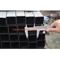 Quality 4 Inch Black Square Steel Pipe , ASTM A500 Square Hollow Section Steel Tube for sale