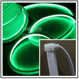 Best Popular 24V DC flat green led neon flex16x16mm square shape for home decoration wholesale