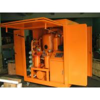 Quality Movable Transformer Oil Purification, Oil Treatment Machine for sale